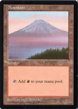 APAC Mountain (Mt. Fujiyama) Magic: The Gathering