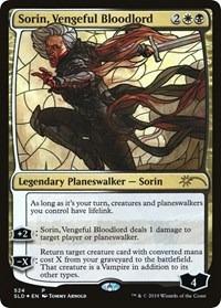 Sorin, Vengeful Bloodlord (Stained Glass) Secret L