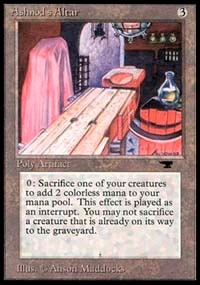 Ashnod's Altar Antiquities Magic: The Gathering