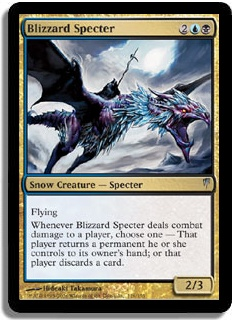Blizzard Specter Coldsnap Magic: The Gathering