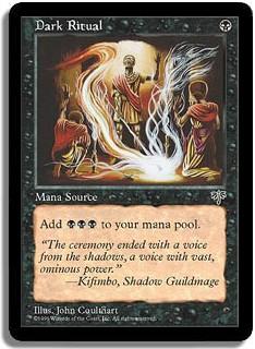 Dark Ritual Mirage Magic: The Gathering