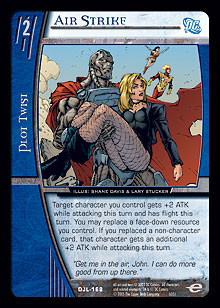 Air Strike FOIL Justice League Vs. System