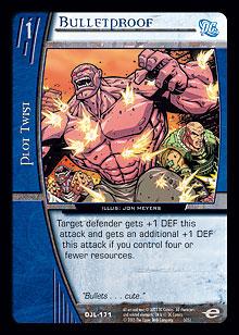 Bulletproof FOIL Justice League Vs. System
