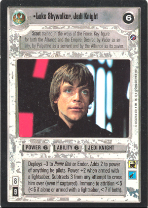 Luke Skywalker, Jedi Knight FOIL Reflections II De