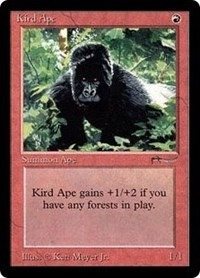 Kird Ape Arabian Nights Magic: The Gathering