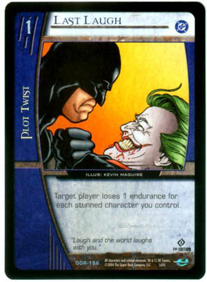 Last Laugh DC Origins Vs. System