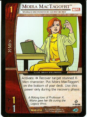 Moira MacTaggert Marvel Origins Vs. System