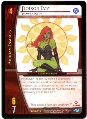 Poison Ivy DC Origins Vs. System