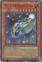 B.E.S. Covered Core FOIL Shadow of Infinity Yu-Gi-