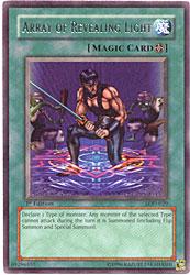 Array of Revealing Light Legacy of Darkness Yu-Gi-