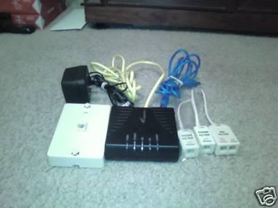 AT&T BELLSOUTH Westell DSL MODEM 6100 - G Motorola 2210. Price: $19.99