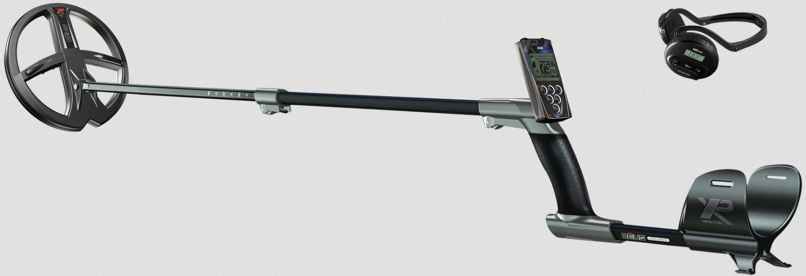 XP DEUS Metal Detector with WS4 Headphones + Contr