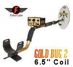 "Fisher Gold Bug2 Metal Detector with 6.5"" Elliptic"