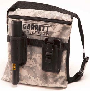 Garrett Camo Camouflage Diggers Pouch for Land and