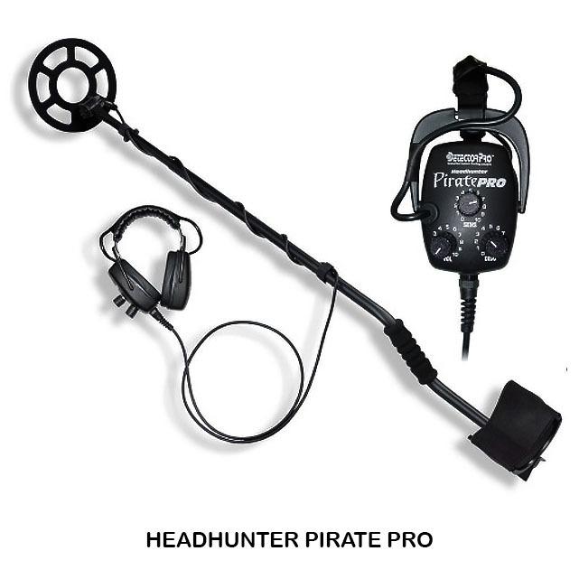 DetectorPro Headhunter Pirate Pro Metal Detector