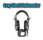 DetectorPro Gray Ghost Underwater Headphone