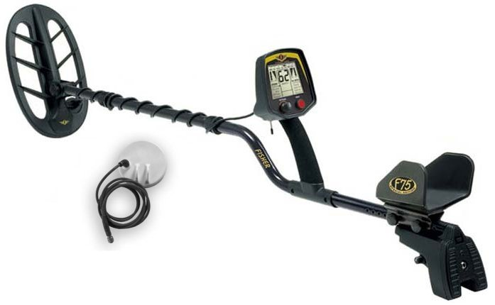 F75 LTD 2 Advanced Technology Metal Detector - 2 C