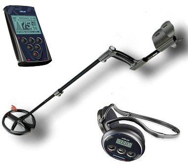 XP DEUS Metal Detector + WS4 Headphones + Controll