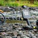 White's MX Sport waterproof metal detector with He