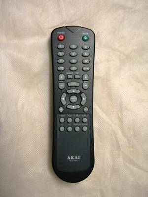 how to turn on akai tv with remote
