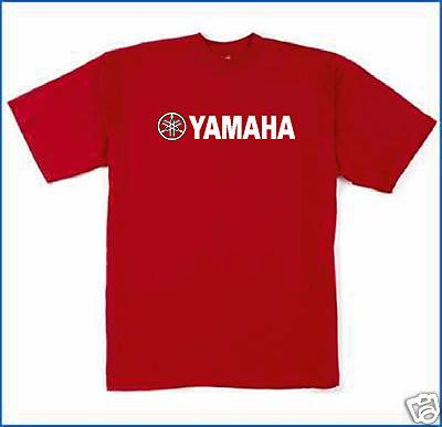 jmssign usa yamaha t shirt red large. Black Bedroom Furniture Sets. Home Design Ideas
