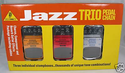 luvtheseprices behringer jazz trio pedal chain. Black Bedroom Furniture Sets. Home Design Ideas
