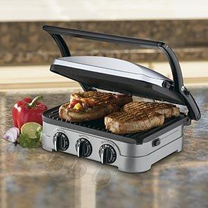 1qualitybazaar cuisinart griddler gourmet press grill 4 - Cuisinart griddler grill panini press ...