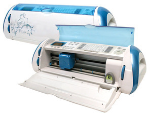 blue cricut expression machine