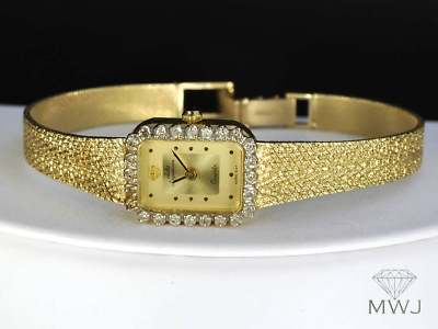 Lea Lane Jewelry Ladies 14k Solid Gold Amp Diamond Jules