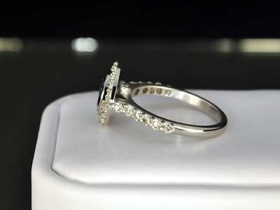 LEA LANE JEWELRY : 14k Gold Ezequiel Amaro Designer Blue Diamond Ring