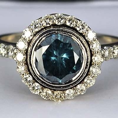 LEA LANE JEWELRY : 14k Gold Ezequiel Amaro Designer Blue ...