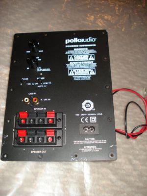 Elite Home Furniture Polk Audio Subwoofer Amplifier