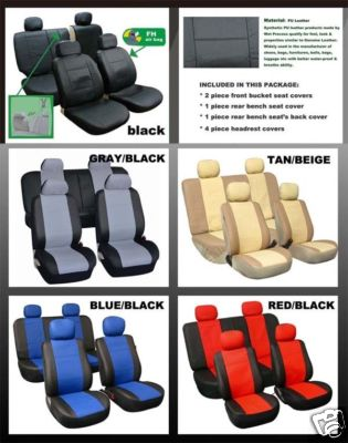 Bestfh Com 1990 2002 Toyota 4runner Seat Cover Airbags