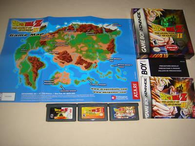Nintendogamesandmoregames Dragonball Z Legacy Goku I Ii Cib W Map