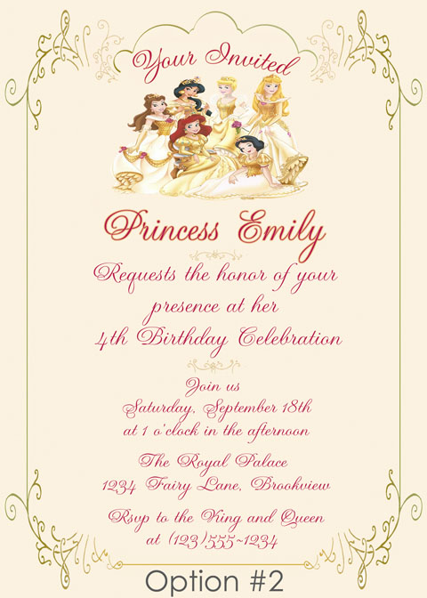 Personalized Printable Invitations Cmartistry Personalized Royal
