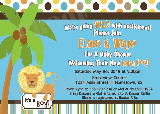 cmartistry, Baby shower invitations