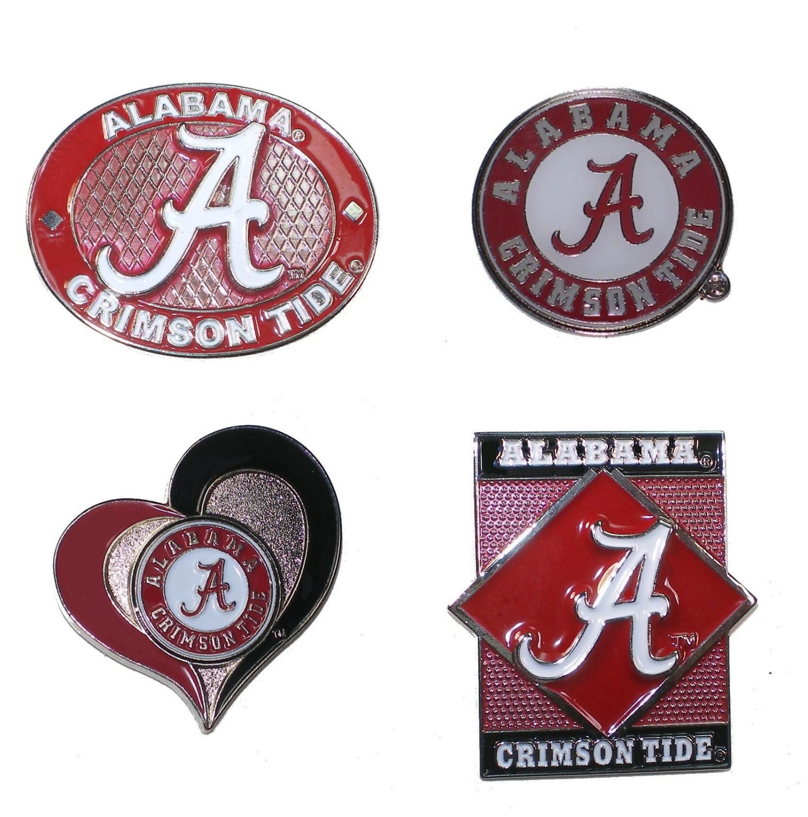 Alabama Crimson Tide Lapel Pins NCAA Licensed Prod