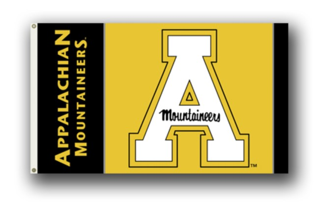Appalachian State Mountaineers 3' by 5' Flag Heavy