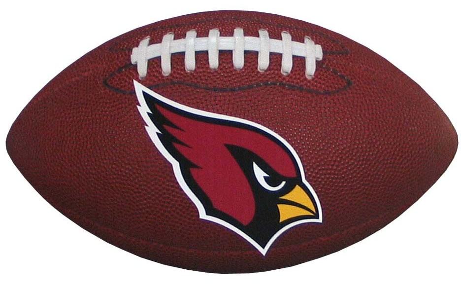"Arizona Cardinals Magnet 3.75"" by 6.5"" Outdoor Gra"
