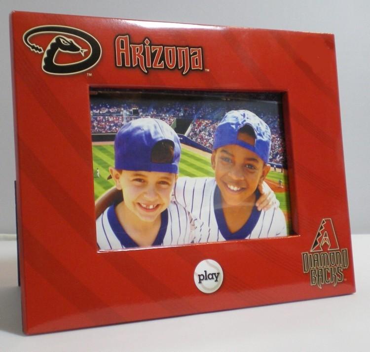 "Arizona Diamondbacks Picture Frame Holds 4"" Tall b"
