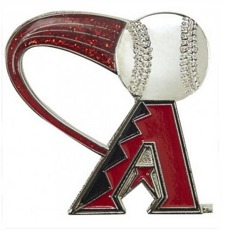 "Arizona Diamondbacks Lapel Pin Glitter Trail 1"" Hi"