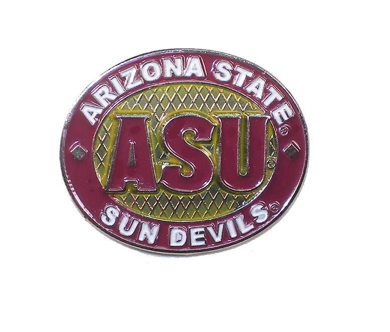 """Arizona State Sun Devils Lapel Pin 1"""" Oval Design"""