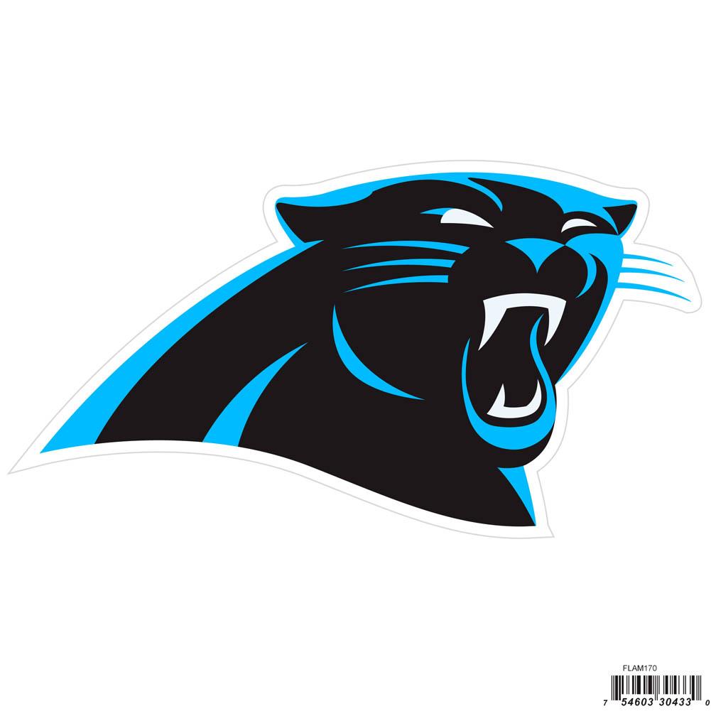 """Carolina Panthers Magnet 7.25"""" Wide NFL Licensed H"""