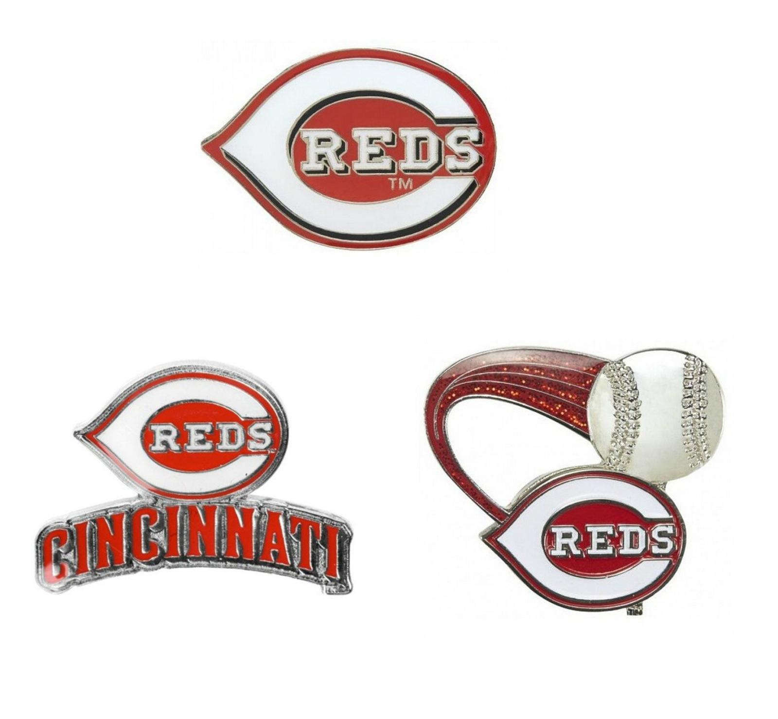 "Cincinnati Reds Lapel Pin About 1"" High MLB Baseba"