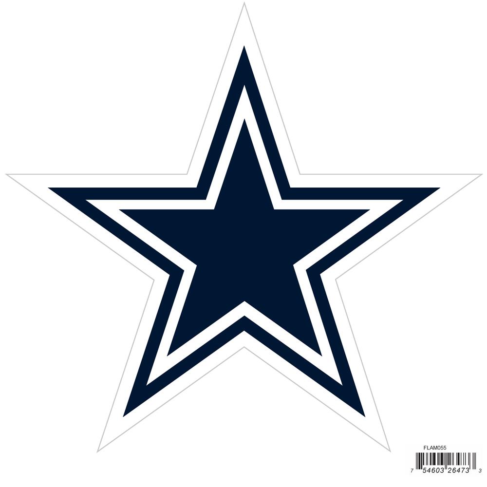 "Dallas Cowboys Magnet 7"" High NFL Licensed Heavy D"