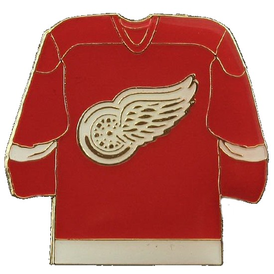 Detroit Red Wings Lapel Hat Pin NHL Licensed Team