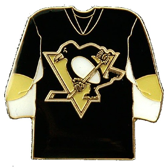 Pittsburgh Penguins Lapel Hat Pin NHL Licensed Tea
