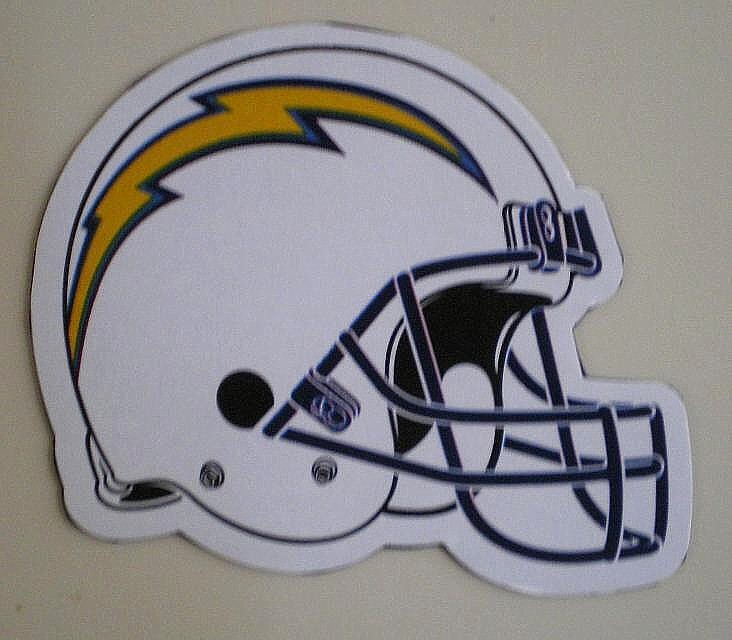 San Diego Chargers Car Accessories: Los Angeles Chargers Decal Sticker NFL Football Licensed