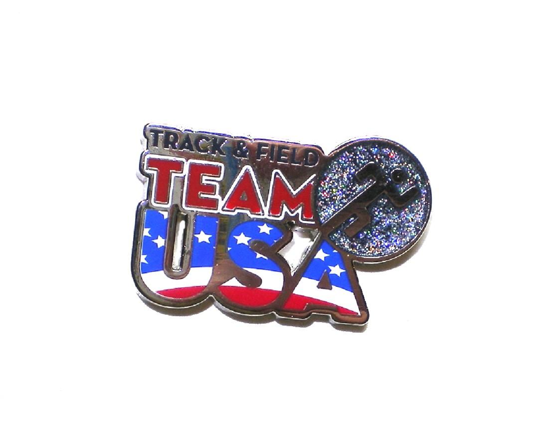 2016 US Olympic Lapel Pin Track & Field Team USA D