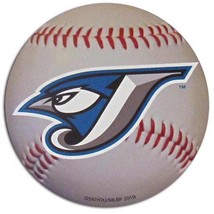 "Toronto Blue Jays Auto Magnet 4.5"" Baseball Shape"